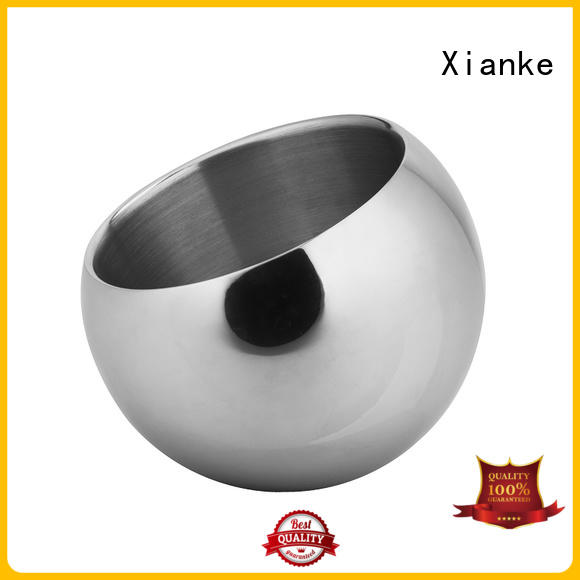 Xianke walled bulk ice buckets stainless party