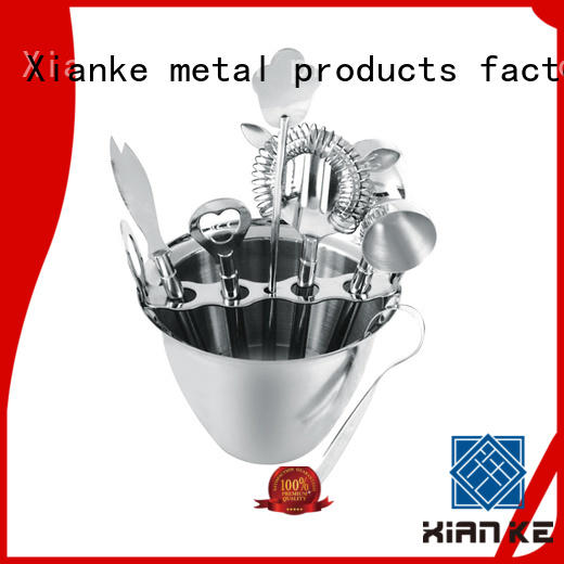 Xianke stainless steel stainless steel shaker set finish