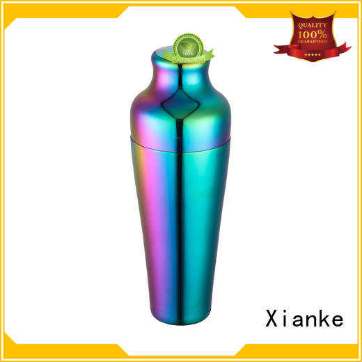 top selling stainless steel drink shaker custom for wholesale Xianke