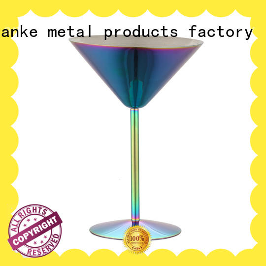 Xianke tankard bulk stainless tumblers glass for martini