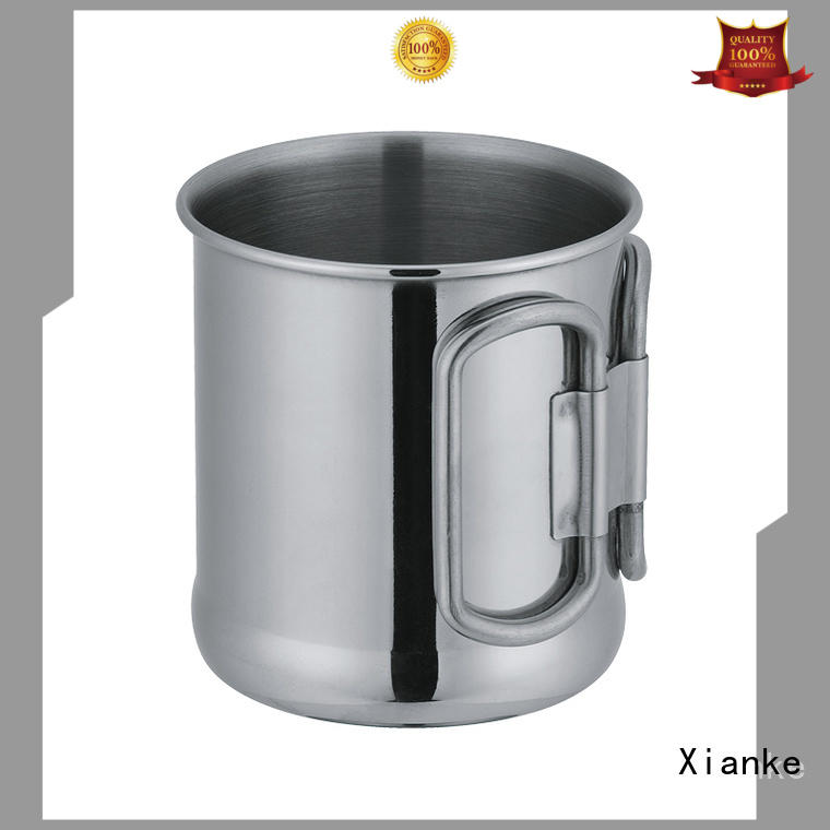 Stainless steel mug with handle in 10oz E05
