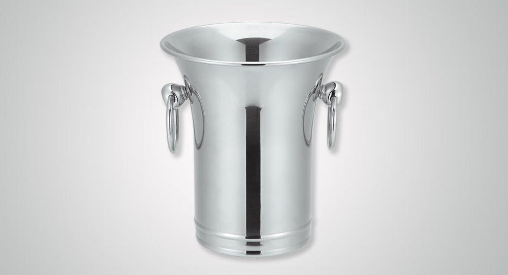 oval stainless ice bucket highly-rated ball for gathering