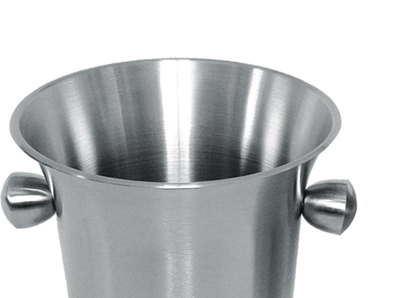 Xianke large capacity stainless steel ice buckets wholesale sloped for bar