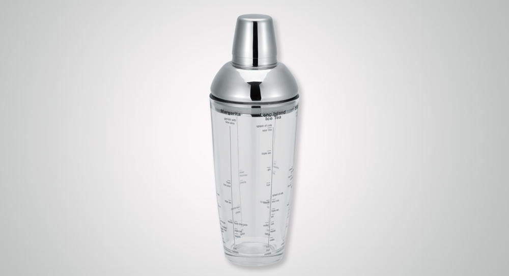 hot-sale shaker steel rocket for vodka