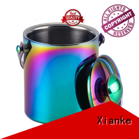 Xianke large capacity ice bucket supplier cooler for wine