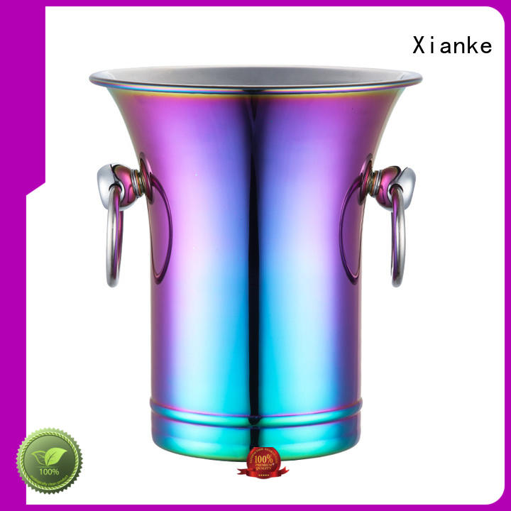 large capacity stainless steel beer bucket durable bottle for party