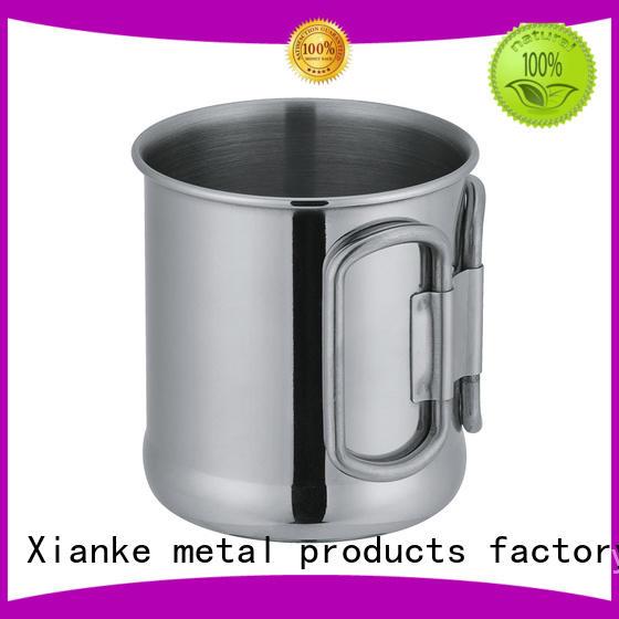 Xianke popular stainless steel goblet shape for wine