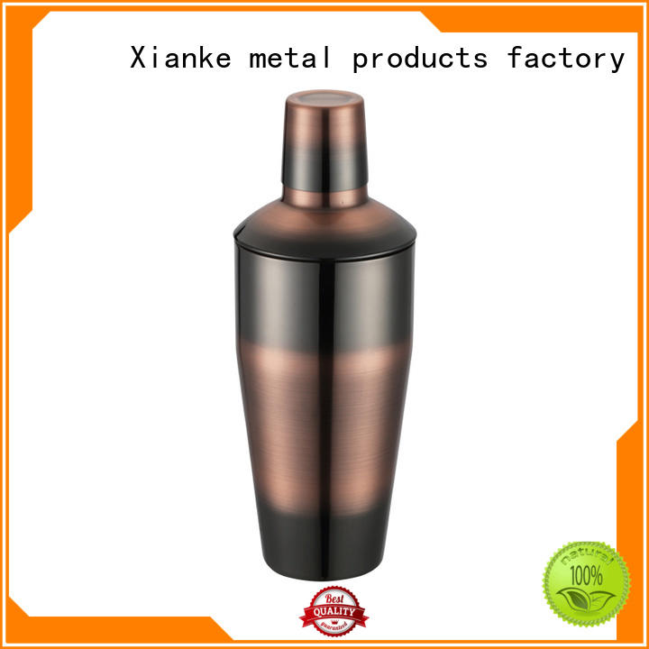Xianke top selling steel shaker chic design for cocktail