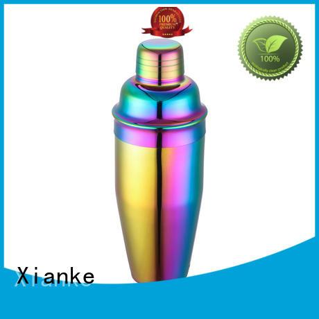 Xianke bulk order stainless shaker glass for vodka