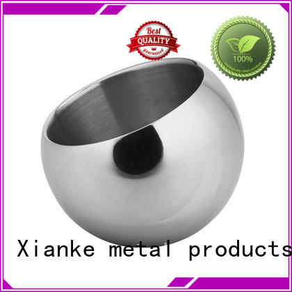 Xianke oval stainless steel ice bucket on stand highly-rated for party