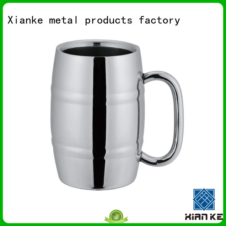 Xianke stainless stainless steel goblet cup for beer