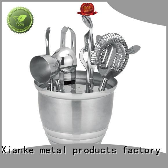 Xianke electroplated wine tool bulk order bar ware