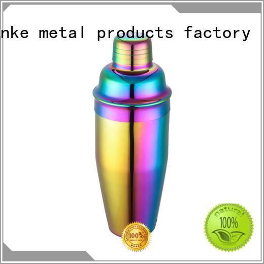 Xianke stainless steel boston shaker novelty for cocktail