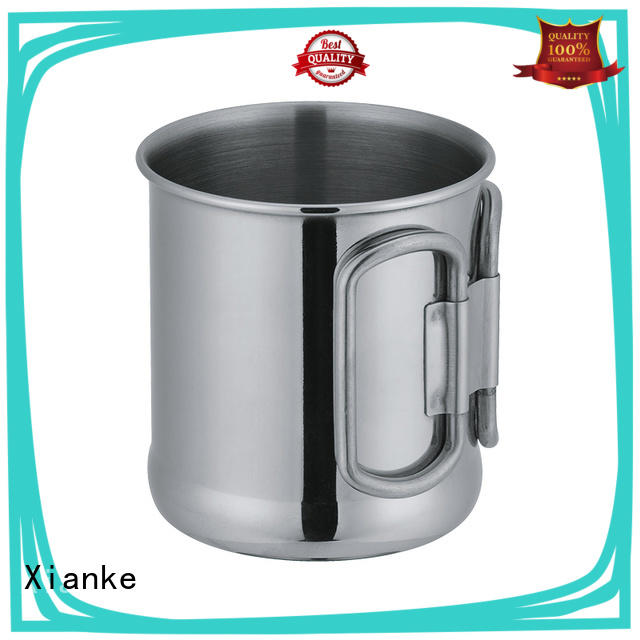 Xianke high quality stainless steel goblet glass for beer