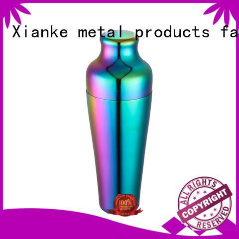Xianke top selling custom drink shaker body for boston
