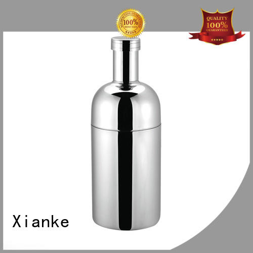 Xianke stainless steel stainless steel cocktail shaker for wholesale