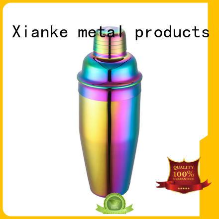 Xianke bulk order shaker bottle menu printing for vodka