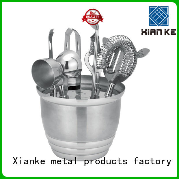 Xianke vintage stainless steel shaker set set for sale
