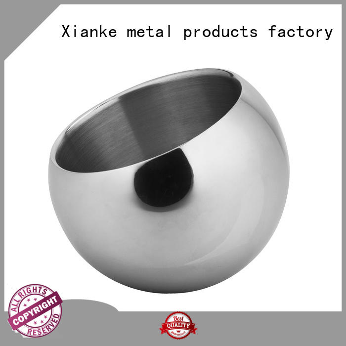 Xianke high quality stainless steel ice buckets wholesale side for club