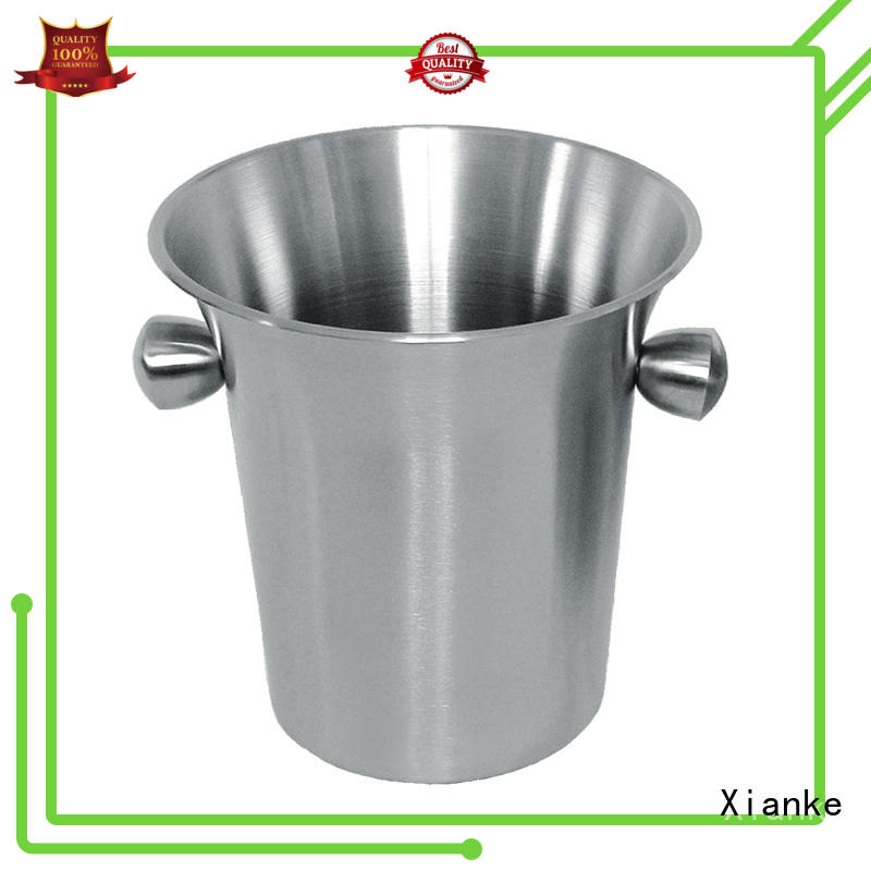 Xianke highly-rated personalized stainless steel ice bucket ball for wine