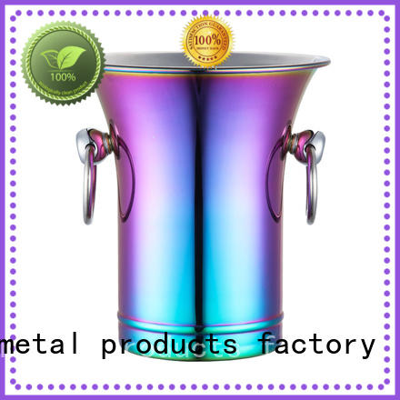 Xianke divider ice bucket stainless top design for bar