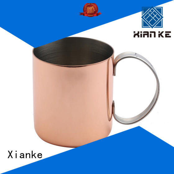 Xianke double stainless steel beer tankard shape margarita