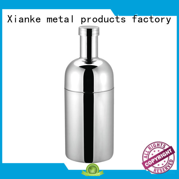 Xianke factory price personalised shaker bottle uk top selling for martini