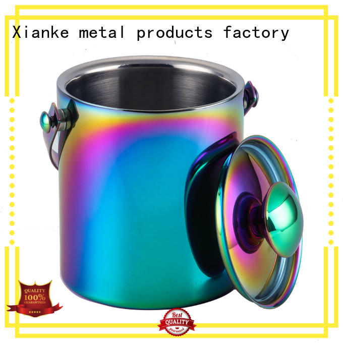 Xianke highly-rated stainless wine cooler buckets ball for bar