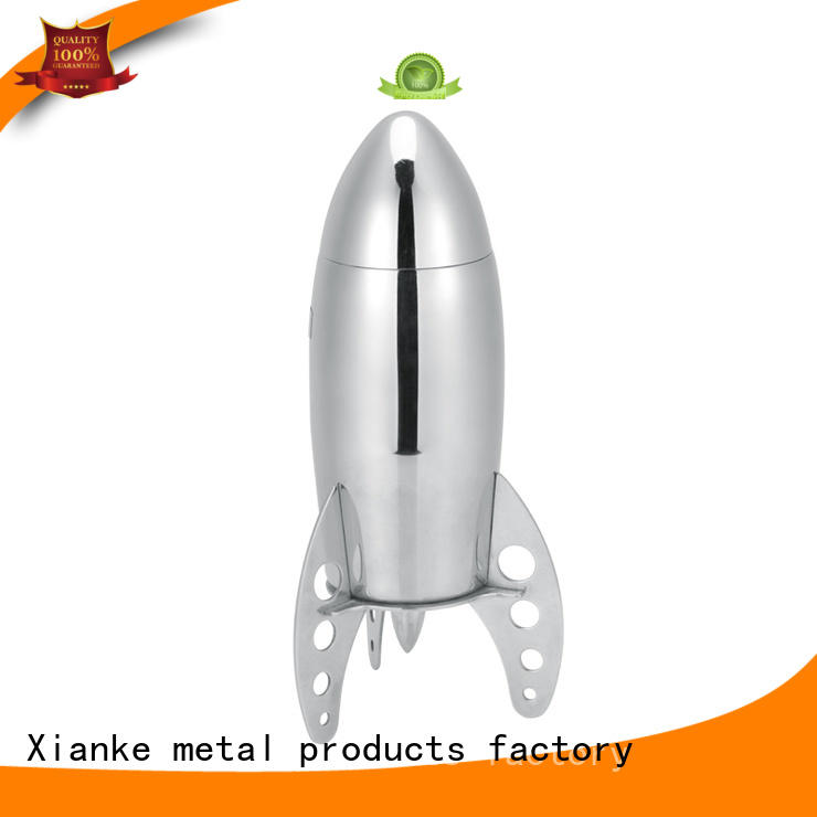 stainless steel vintage stainless steel cocktail shaker chic design for vodka Xianke