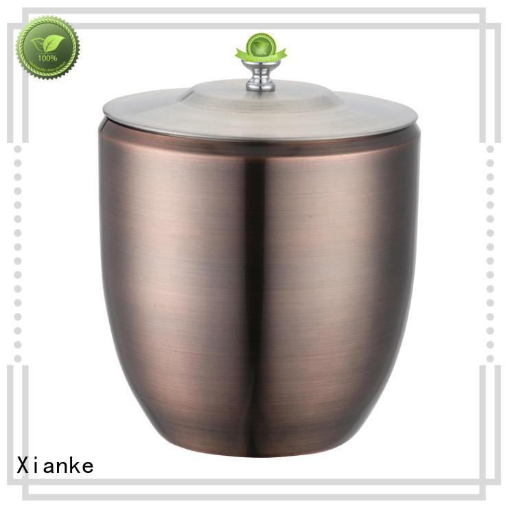 Xianke durable ice bucket double wall handle for club
