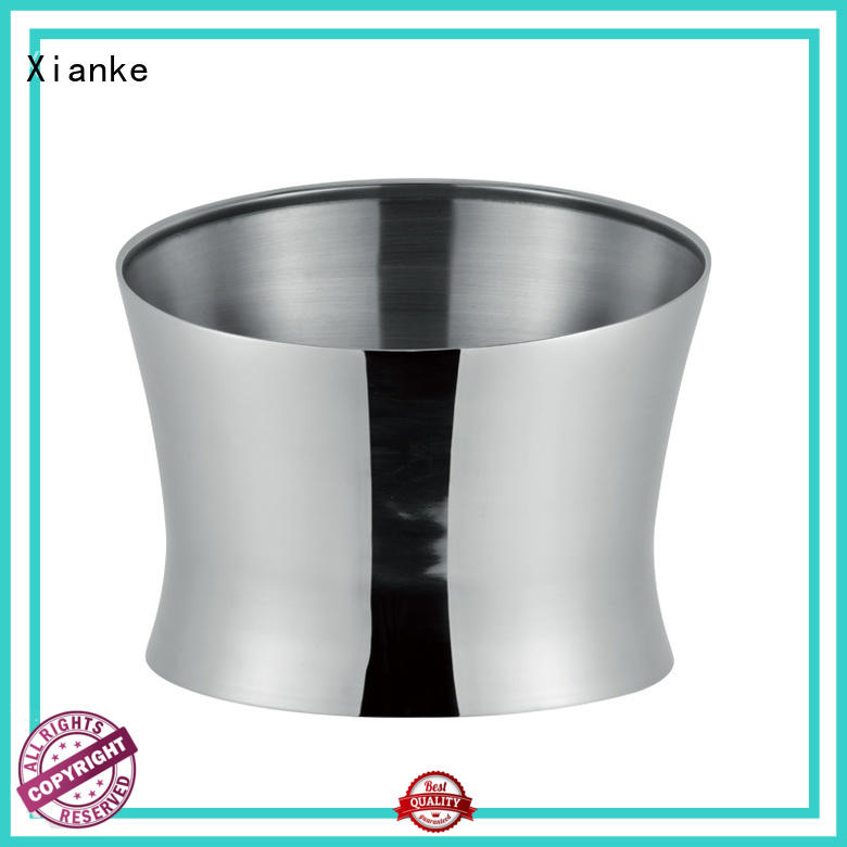 Xianke shaped stainless steel champagne bucket tong for wine