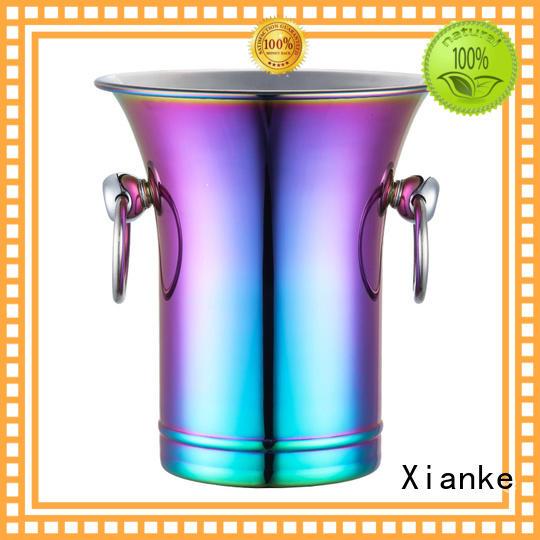 durable steel ice bucket loop for restaurant Xianke