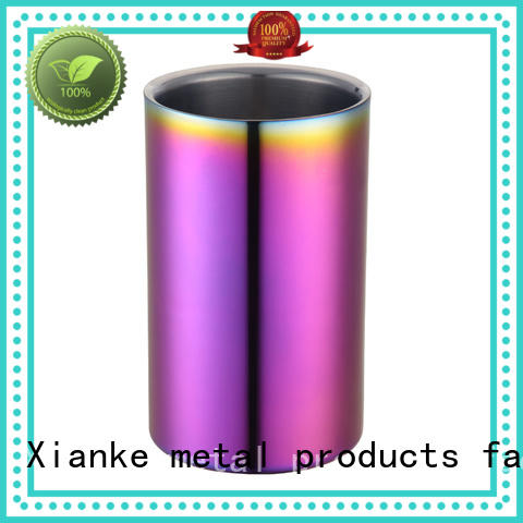 Xianke oval stainless steel wine cooler durable for party