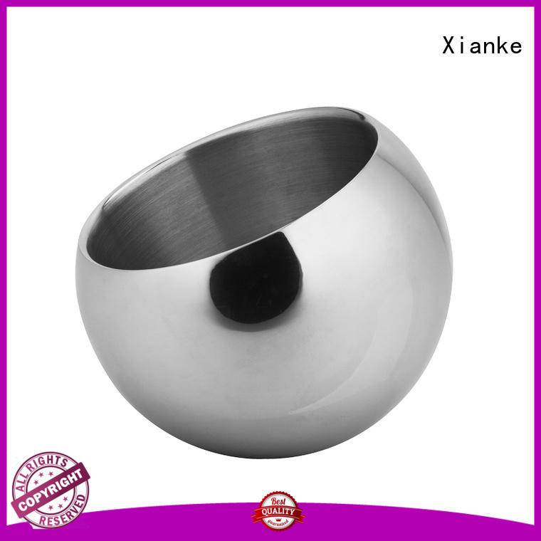 Xianke stainless steel stainless ice bucket with handles for club