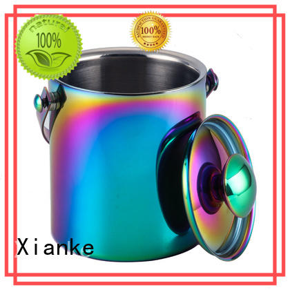 Xianke highly-rated ice bucket manufacturer with lid for wine