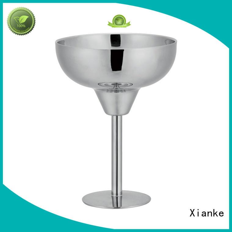 Xianke wall insulated steel tumbler zinc alloy for martini