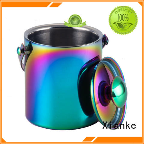 Xianke double walled steel wine bucket highly-rated for restaurant