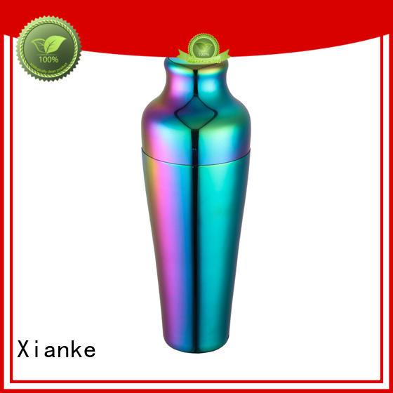Xianke factory price boston shaker menu printing for vodka