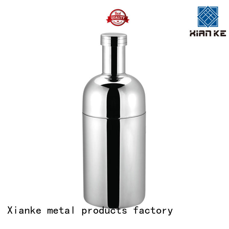 Xianke factory price personalized cocktail shaker rocket for boston