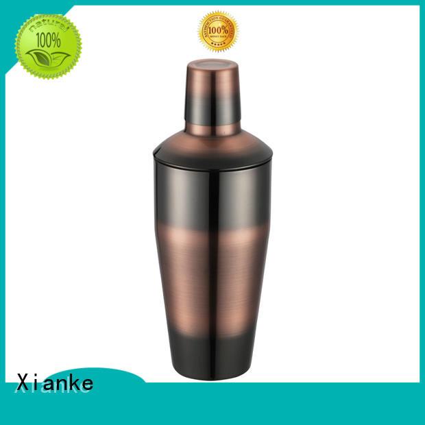 Xianke cheapest stainless steel penguin cocktail shaker for cocktail
