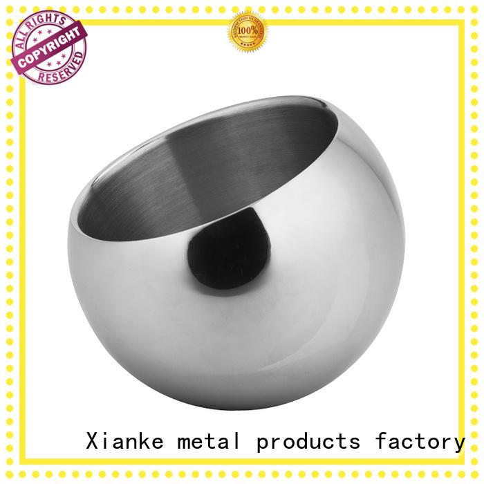 Xianke Brand steel design custom stainless steel ice bucket with lid