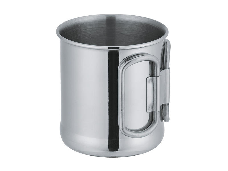 Stainless steel mug with handle in 10oz E05-3