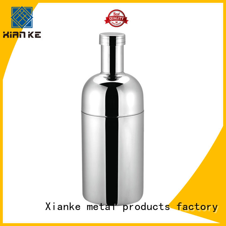 top selling stainless steel martini shaker glass for martini Xianke