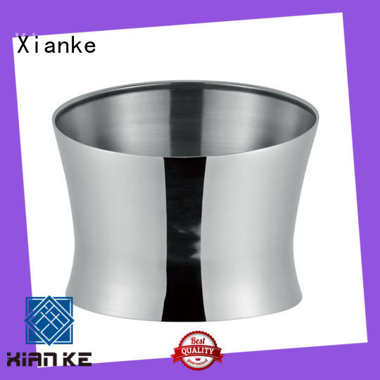 high quality large stainless steel ice bucket highly-rated for party Xianke