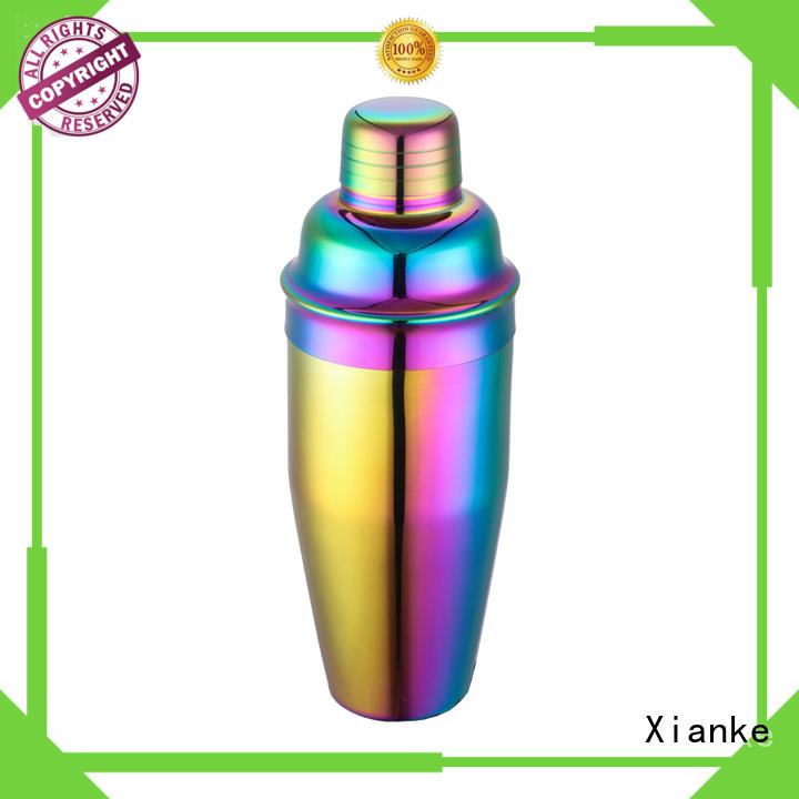 Xianke top selling stylish cocktail shaker rocket for cocktail