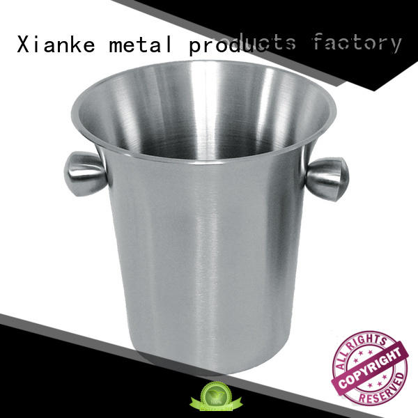 shaped large stainless steel wine buckets cooler gathering Xianke