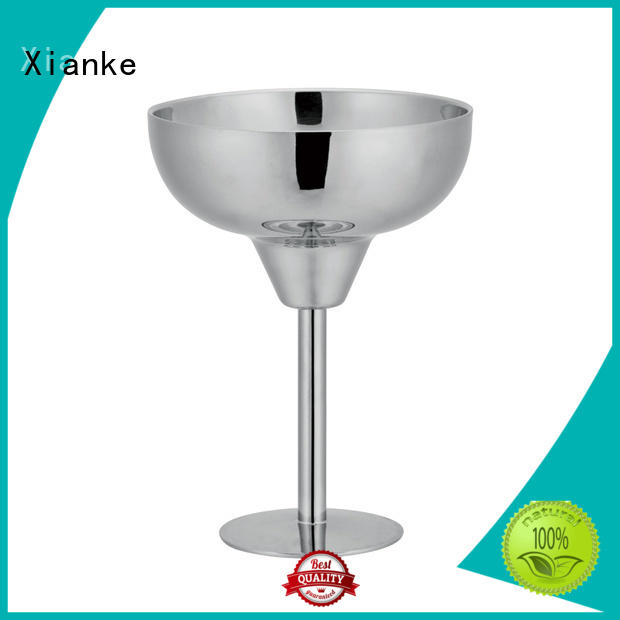 Xianke hot-sale cheap stainless steel tumblers glass for wine