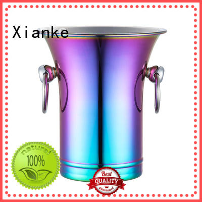 Xianke stainless steel stainless steel ice buckets wholesale highly-rated for gathering