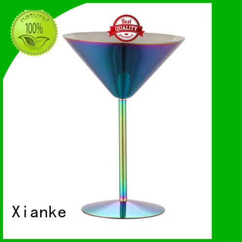 Xianke universal stainless steel tumbler cups design for wine