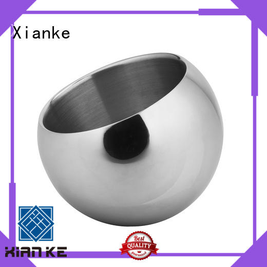 Xianke stainless steel ice bucket double wall highly-rated for restaurant